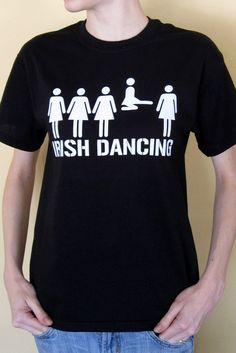 St. Patrick's Day, Irish Dance - crew-neck dancing t-shirt gift