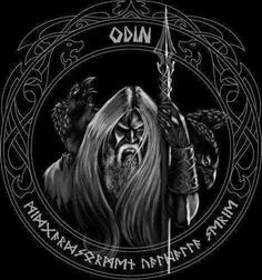 """Odin. Yes, he is grouchy, wouldn't you be if you had to endure all that BS human """"historians"""" and Hollywood imbeciles talk about you??? May they all go to down to Hel!!!"""