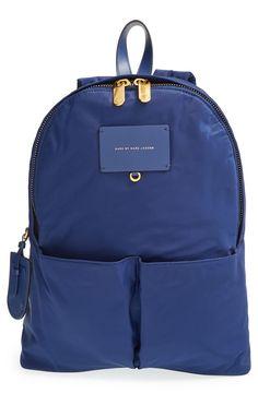 Marc Jacobs 'Preppy Legend' Nylon Backpack (Blue Depths) (or maybe the Black?)