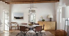 Today's Santa Fe interiors are more playful and less restrictive. In fact, they are melding, as most other styles, into an eclectic version of what they used to be, and integrating furniture pieces from every era.