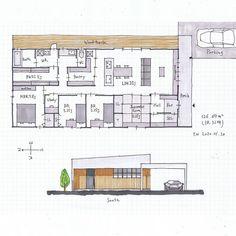 Floor Plans, House Design, Flooring, How To Plan, Building, Interior, Home, Instagram, Buildings