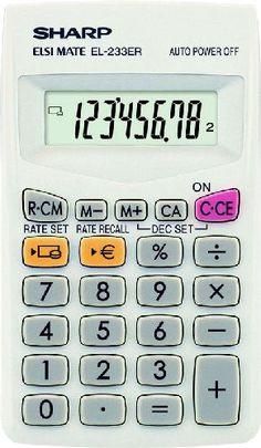 #Sharp_zsebszámológép #Sharp #Elsi_Mate #EL_233ER #zsebszámológép zsebszámológép 8 digites nagy LCD kijelzővel. A zsebszámológép mérete: 127 mm x 64 mm x 14 mm. LR1130. Az elem cserélhető. A számjegyek mérete: 9 mm. A Sharp Elsi Mate EL-233ER #zsebszámológép_használata. Sharp Elsi Mate #EL_243S #napelemes_zsebszámológép Kis méretű zsebszámológép 8 digites nagy LCD kijelzővel. Kihajtható A zsebszámológép mérete: 128 mm x 67 mm x 15 mm.  A számjegyek mérete: 14 mm. #Sharp_Elsi_Mate EL-243S Solid Wood Flooring, Social Media Services, Custom Made Furniture, Primitive Antiques, Small Patio, Pandora Jewelry, Calculator, Digital Marketing, Mason Jars