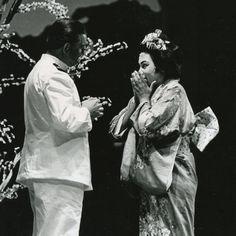 Leontyne Price and Sándor Kónya - Madame Butterfly, San Francisco Opera, 1961 San Francisco, Madame Butterfly, Opera Singers, African American Women, Classical Music, Legends, Divas, History, Stars