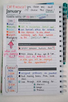 I would never describe myself as an organized person, but for some reason, I've always been obsessed with planners. When I was in school, my favorite school supply to buy each September was a brand new planner, or notebook that I could turn into a planner. Writing down my homework assignments and social obligations in one place always proved to be more effective for me than trying to remember them on my own, jotting them in my phone, or keeping them scattered in different class notebooks.