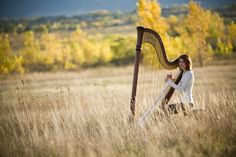 Own a pedal harp, and have a photo like this taken of me! :)