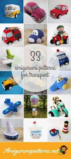 33 Transport Amigurumi Patterns - Page 2