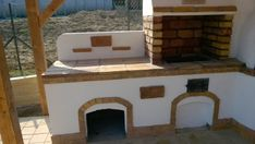 Kerti konyha - Veresegyház Outdoor Kitchen Plans, Outdoor Kitchen Design, Outdoor Fireplace Designs, Backyard Projects, Outdoor Furniture, Outdoor Decor, Projects To Try, Construction, Gardening