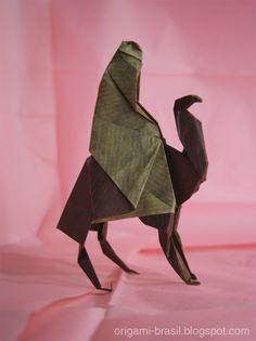 Origamis Para a Árvore de Natal - Presépios: Origami Brasil