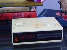 Dream Machine 1980s Sony FM/AM Digital Alarm by 777VintageStreet