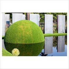 reflective grass dome