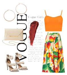 """""""Tropical Thursday"""" by savvinabitz on Polyvore featuring WearAll, Charlotte Russe, Jennifer Zeuner, By Terry and Isolda"""
