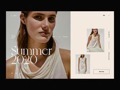 Loewe Header Slider Concept by Andrea Jelić on Dribbble Website Design Inspiration, Fashion Website Design, Website Design Layout, Web Design Inspiration, Web Layout, Slider Design, Fashion Editor, Sliders, Header