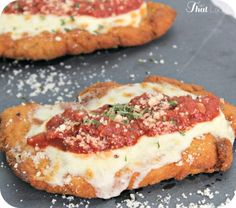 Are you looking for a restaurant quality chicken parmesan recipe? Look no further because this is the BEST recipe you will find.  This one can also be made #glutenfree!