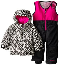 So cute for playing in the snow | Amazon.com : Columbia Sportswear Girl's Buga Set : Clothing | #kidstylin