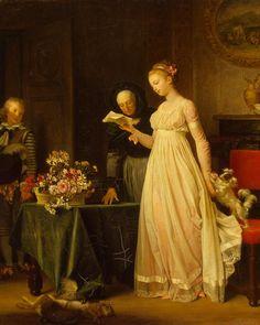 The Gift      Marguerite Gerard      1785-1788
