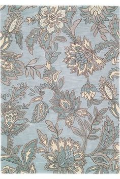 duck egg blue rug #fabric #textiles #rugs