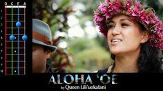 """""""Aloha 'Oe"""" (Farewell to Thee) Ukulele Play-Along!"""