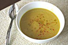 Indian-Spiced Cauliflower Soup #vegan