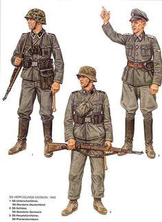 SS Verfugungs Division 1940