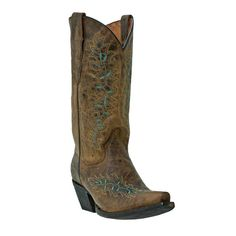 Dan Post Women's Fancy Stitch Western Boots