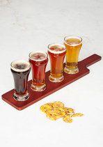 Beer Flight of Fancy Glass Set   Mod Retro Vintage Kitchen   ModCloth.com