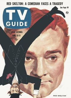 The history of television at your fingertips with the TV Guide Magazine Cover Archive - Covers from 1953 to today - including TV's biggest shows and stars like Lucy and John Wayne Red Skelton, 20 Tv, Vintage Television, Tv Land, Tv Guide, Old Magazines, Old Tv Shows, Vintage Tv, Classic Tv
