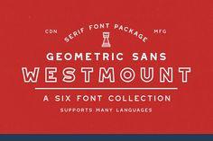 Westmount - 6 Sans Serif Fonts