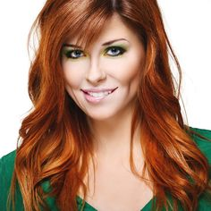 hair color trends fall 2014 | Red is the hot new hair color for 2014. Look for bright red hair color ...