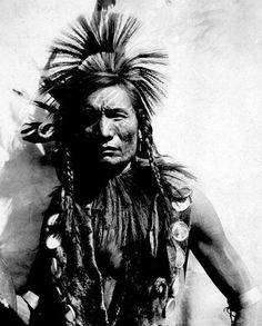 Native American Indian: Straight Forehead - Oglala (1901) http://dunway.us/