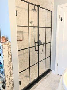 Custom glass shower doors and shower enclosures with matte black finish frame and hardware. Matte black framed glass shower doors by Ultimate Glass Art, Inc in Chicago. We customize in shower glass for over 40yrs. Frameless glass shower doors, framed shower glass doors and sliding glass doors. Contact for free estimates, www.ultimateglassart.com