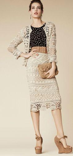 15 Free Crochet Skirt Patterns   My Craft Bay