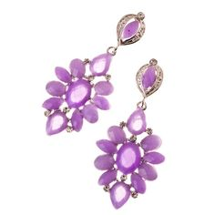 Purple Beauty Earrings $16.50