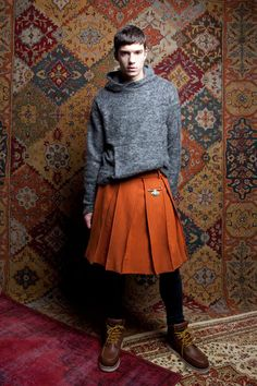 Alder New York Fall/Winter 2013 collection is inspired by Krause and Zilka's Brooklyn neighborhood and the mix of religious imagery and street-wear they see on their  walk to work.