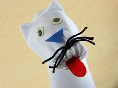 All of my boys have made sock puppets at one time or another. Here's a fun tutorial. >>Make a Sock Puppet