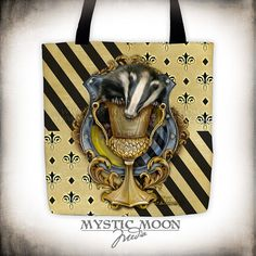 Your place to buy and sell all things handmade Mystic Moon, Sorting Hat, Loyalty, Harry Potter, Presents, Tote Bag, Inspired, Usa, Printed