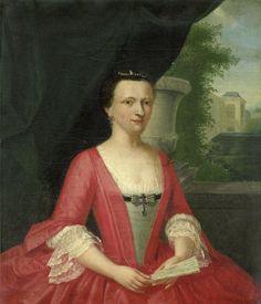 1746 Jacob Jan Nachenius - Jacoba Maria van Bueren gezegd van Regteren, Wife of Johan Willem Parker