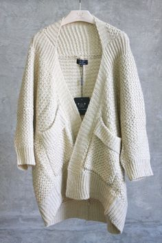 chunky sweater wrap #swoonboutique