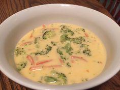 Super close to Panera Bread Broccoli Cheese Soup