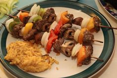 Beef Kabobs using stew meat