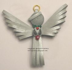 Quilling, Art and Expression: Free Quilled Angel Pattern