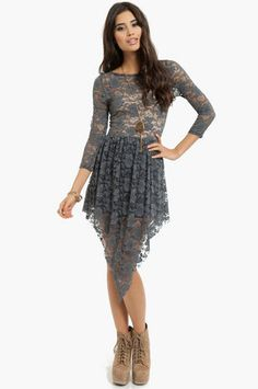 Havana Lace Dress $47 at www.tobi.com