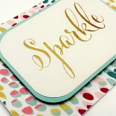 Sparkle Gold Foil Stationary Set with by JMPaperieAndGifts on Etsy