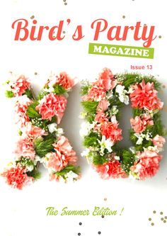 Party Ideas Magazine - Free to read online. Find inspiration for your seasonal wedding, birthdays, showers and holidays! From party crafts to DIYs and recipe to help you style your next event with ease!