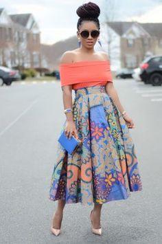 Inspiration: 10 idées de looks de Karen, Living my bliss instyle - Pagnifik African Print Dresses, African Fashion Dresses, African Dress, Ankara Fashion, African Prints, African Print Skirt, African Print Wedding Dress, Ghanaian Fashion, African Inspired Fashion