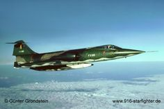"F-104G ""FX96"" of 31 ""Tiger"" Squadron Belgian Air Force,  1982."