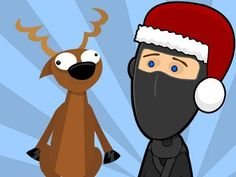 Ask A Ninja - A Very Ninja Christmas Part 1