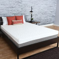 luxury solutions gel memory foam topper size california king memory foam and products