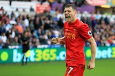7 heaven: James Milner has moved to left-back with no issues
