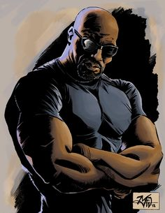 Luke Cage commission doodle by RougeDK.deviantart.com on @deviantART