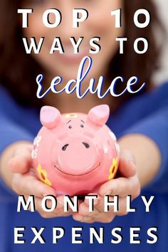 Top 10 Ways to Reduce Your Monthly Expenses - Smart Family Money - Finance tips, saving money, budgeting planner Save Money On Groceries, Ways To Save Money, Money Tips, Money Saving Tips, Money Budget, How To Make Money, Money Hacks, Frugal Living Tips, Frugal Tips